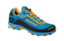 Mammut React  chaussures trail Homme GTX jaune/bleu